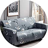 Goods-Store Slipcover Slipcovers Sofa Tight Wrap All-Inclusive Sectional Elastic Full Sofa Cover,17,Three Seat Sofa