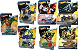 DC Universe 7 Car Hot Wheels Set Batman Vs Superman 2015 robin, penguin, aquaman, joker, hawkman