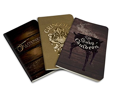 Harry Potter Diagon Alley Pocket Notebook Collection Set Of 3