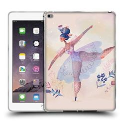 511R 9p3BgL - Official Oilikki Ballerina Assorted Designs Soft Gel Case Compatible for iPad Air 2 (2014)