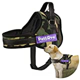 PetLove Dog Harness, Soft Leash Padded No Pull Dog Harness with All Kinds of Size (XXXSmall, Camouflage)