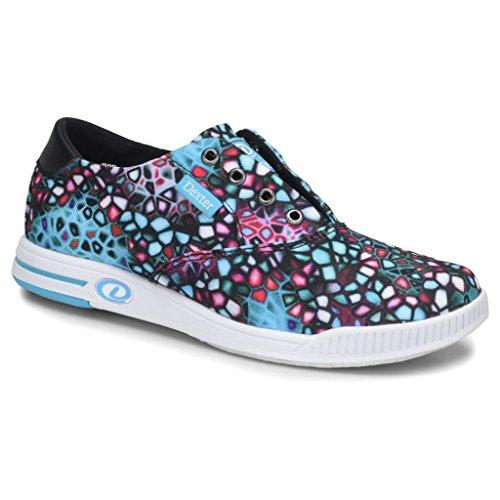 Dexter Womens Kerrie Bowling Shoes- Black/Multi, 8
