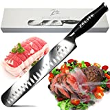 Zelite Infinity Slicing Carving Knife - Comfort-Pro Series - High Carbon Stainless Steel Chef Knives X50 Cr MoV 15  12' (305mm)