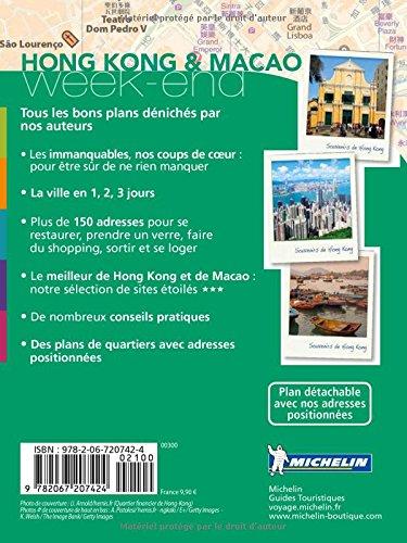 Guide Vert Week-End Hong-Kong & Macao Michelin