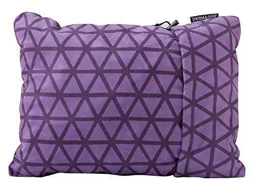 Therm-a-Rest Compressible Travel Pillow for Camping, Backpacking, Airplanes,Road Trips