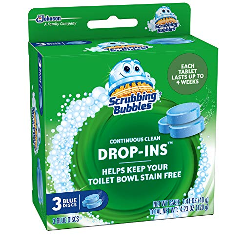 Scrubbing-Bubbles-Continuous-Clean-Drop-Ins-Toilet-Cleaner-Tablet-Repels-Tough-Hard-Water-and-Limescale-Stains-Blue-Discs-3ct-423-oz