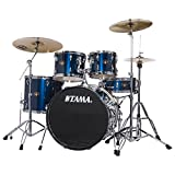 Tama Imperialstar 5-Piece Complete Drum Kit with Meinl HCS Cymbals - Midnight Blue