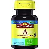 Nature Made Vitamin A 8,000 IU Softgels 100 Ct (Packaging may vary)