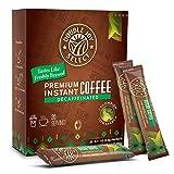 Instant Coffee Packets - Instant coffee singles Tastes Like Freshly Brewed (Medium Roast Decaf, 20 Packets)
