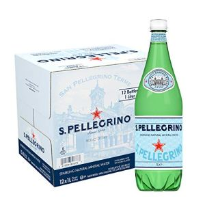 S.Pellegrino Sparkling Natural Mineral Water, 33.8 Fl Oz. (12 Pack)