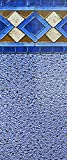 Smartline Mosaic Diamond 18-Foot Round Pool Liner | UniBead Style | 52-Inch Wall Height | 25 Gauge Virgin Vinyl Material | Heavy-Duty Liners | Designed for Steel Sided Above-Ground Swimming Pools