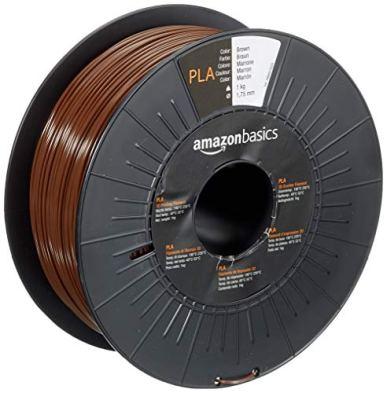 Amazon-Basics-PLA-3D-Printer-Filament-175mm-Brown-1-kg-Spool