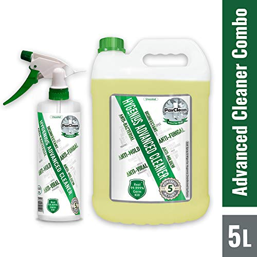 PaxClean : HyGenius Advanced Cleaner 5 L Combo with Spray Bottle 1  PaxClean : HyGenius Advanced Cleaner 5 L Combo with Spray Bottle 511sQxE5f5L