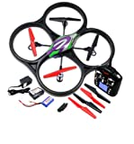 WL V262 Quadcopter 4 Channel 6 Axis with Camera Value Pack - Extra battery