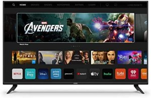 VIZIO 43-Inch V-Series 4K UHD LED HDR Smart TV with Apple AirPlay and Chromecast built-in, Dolby Vision, HDR10+, HDMI 2.1, Auto Game Mode and Low Latency Gaming