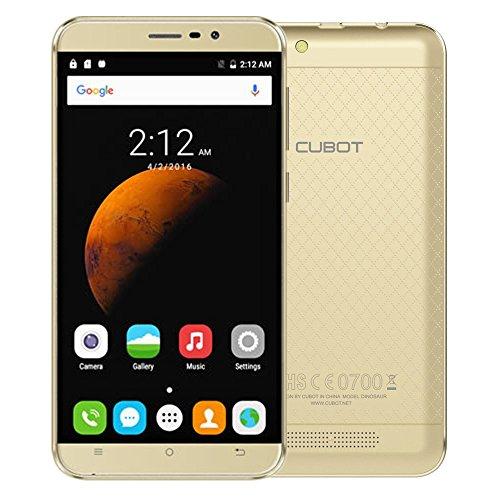 "Cubot Original CUBOT Dinosaur Smartphone 4G FDD-LTE 5.5"" HD IPS Screen 1280*720pixel 64Bit MT6735A Quad-Core 1.3GHz 3GB+16GB Cellphone Android 6.0 13.0MP 4150mAh Battery Dual SIM Mobile Phone"