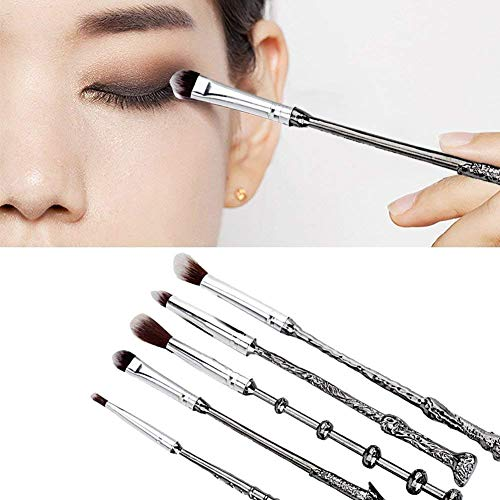 Wizard Wand Brushes,WeChip 5 PCS Makeup Brush Set for Women
