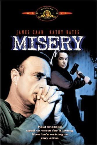 Image result for misery film cover