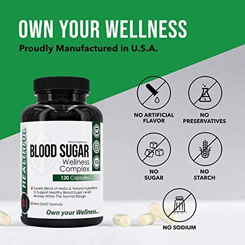 Blood Sugar Wellness Complex, Premium Blend of Herbs for Healthy Blood Sugar Level, Weight Loss & Heart Health - Gymnema Sylvestre, Bitter Melon, Banaba - Unbroken Intention 7