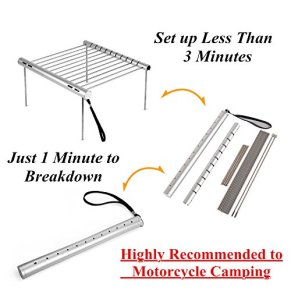 NASHRIO-Portable-Camping-Grill-Folding-Compact-Stainless-Steel-Charcoal-Barbeque-Grill-for-Picnics-Backpacking-Backyards-Survival