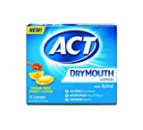 Act Dry Mouth Lozenges, Honey Lemon, Sugar Free, 18 Count (Pack of 3)