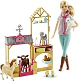 Barbie Careers Farm Vet Doll & Playset