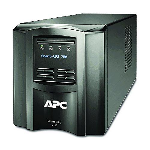 APC 1500VA Smart-UPS with SmartConnect, Pure Sinewave UPS Battery Backup, Line Interactive, 120V Uninterruptible Power Supply (SMT1500C)