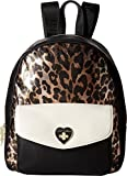 Betsey Johnson Women's Turnlock Backpack Cheetah One Size