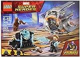 LEGO Juego de Construcción Marvel Super Heroes Avengers Infinity War, Thor, Groot y Rocket, Aventura Tras el Arma de Thor (76102)