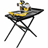 DEWALT Wet Tile Saw with Stand, 10-Inch (D24000S)