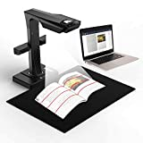 CZUR ET16 Plus Book & Document Scanner with Smart OCR for Mac and Windows, Patented Laser Auto-Flatten & Deskew Technology, Convert to PDF/Searchable PDF/Word/Tiff/Excel