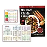 Instant Pot Electric Pressure Cooker Cookbook and Cook Times Gift Set | Instapot Recipes Accessories Magnetic Cheat Sheet Magnet Set and the Essential Great Food Fast Best Selling Cookbook