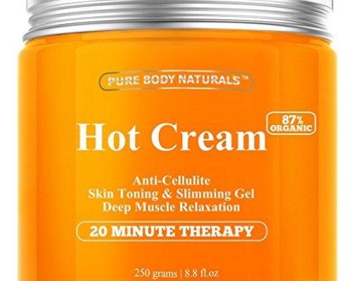 Pure Body Naturals Hot Cream For Cellulite Reduction