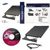 Samsung USB 2.0 Ultra Portable External DVD Writer Model SE-218CB/RSBS