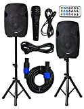 2x Ignite Pro 10' Pro Series Speaker DJ / PA System / Bluetooth Connectivity 2000W (10')