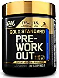 OPTIMUM NUTRITION Gold Standard Pre-Workout with Creatine, Beta-Alanine, and Caffeine for Energy, Keto Friendly, Blueberry Lemonade, 30 Servings