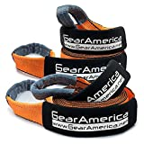 """GearAmerica (2PK) Recovery Tow Straps 3"""" x20' 