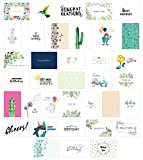 All Occasion Greeting Cards Assortment, Blank Assorted Boxed Greeting Card, Any Occasion Greeting Cards, Thank You Cards with Envelopes, Includes Birthday and Sympathy Cards - 36 Designs 4 x 6 Inches