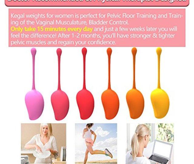 Kegel Balls For Women Beginners Advanced Ben Wa Balls Sets Kegel Exerciser Weights