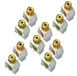 Legrand - On-Q WP3457WHV5 Audio Binding Posts (5 pack), White