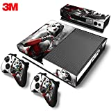 ZOOMHITSHINS Xbox One Console Skin Decal Sticker Harley Quinn + 2 Controller & Kinect Skins Set