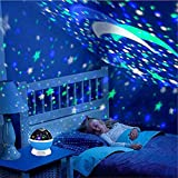 Baby Night Light Star Projector FastWin Moon Novelty Toys Glow in The Dark Toys for Baby Children Sleeping Gift (Pink)