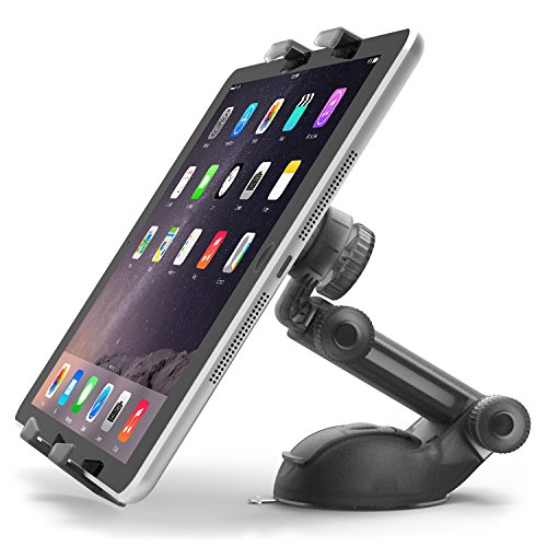 iPad Mount, iOttie Easy Smart Tap 2 Universal Car Desk Mount Holder Stand Cradle for iPad Air 2 iPad 4/3/2 iPad mini 3, Galaxy Tab, Nexus 9/7