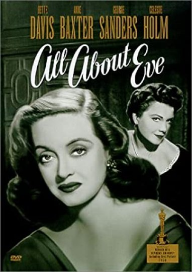 Poster Image of classic black and white movie 'all about eve' 1950