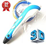 7TECH 3D Pen for Kids, Professional 3D Drawing Pen with LCD Screen, Best Quality with No Clog Refill Filament, Safe and Easy to Use 3D Writing Pens for Kids & Adults