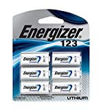 Energizer 123 Lithium Photo Batteries, cr123a Battery, (6 Count)