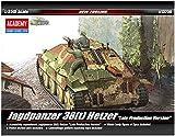 Academy Jagdpanzer 38(t) Hetzer Late Version Military Land Vehicle Model Building Kit