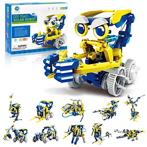 CIRO-Solar-Robot-Kit-11-in-1-Educational-STEM-Learning-Science-Building-Toys-for-Kids-Age-8-12