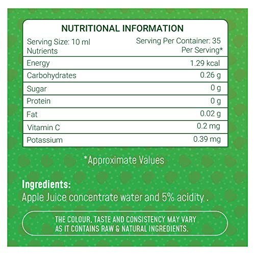 Neuherbs 100% Natural Apple Cider Vinegar for Weight Loss 350 ml 4