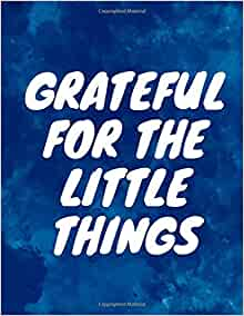 Amazon.com: Grateful for the Little Things: Teacher ...